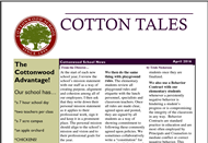 April 2016 Cotton Tales Newsletter
