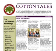 March 2016 Cotton Tales Newsletter