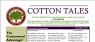 October 2015 Cotton Tales Newsletter